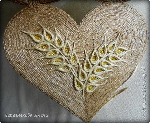 Приветствую всех-всех-всех)))А у меня очередная «сердечная» шкатулочка.Но в этот раз с колосьями пшеницы. Ну,что ж,начнём просмотр?  фото 9
