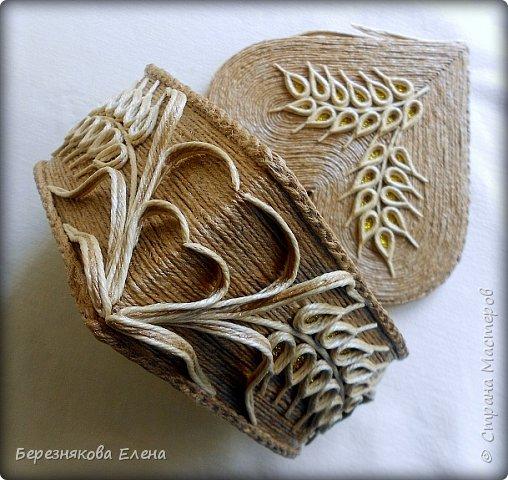 Приветствую всех-всех-всех)))А у меня очередная «сердечная» шкатулочка.Но в этот раз с колосьями пшеницы. Ну,что ж,начнём просмотр?  фото 10