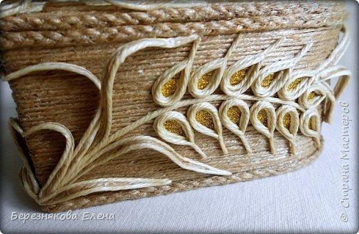 Приветствую всех-всех-всех)))А у меня очередная «сердечная» шкатулочка.Но в этот раз с колосьями пшеницы. Ну,что ж,начнём просмотр?  фото 11