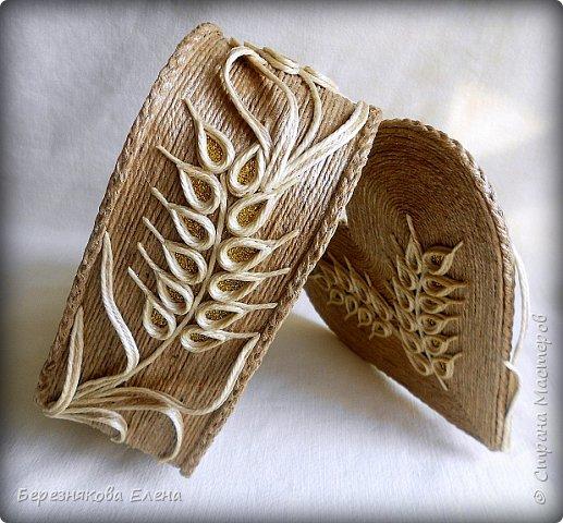 Приветствую всех-всех-всех)))А у меня очередная «сердечная» шкатулочка.Но в этот раз с колосьями пшеницы. Ну,что ж,начнём просмотр?  фото 13