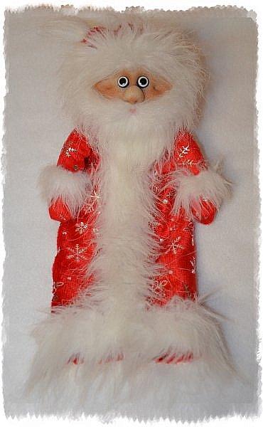 Всем Привет! А я продолжаю Тему Нового года))) И вот Сшились Три Деда мороза на Новогодний Напиток! Вот такие Красавчики))) Это Первый) фото 4
