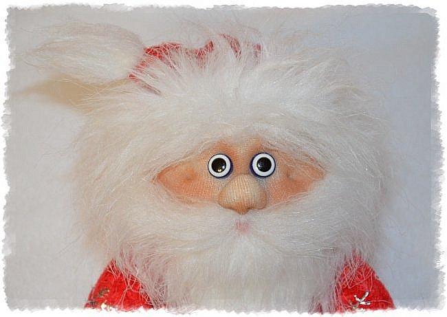 Всем Привет! А я продолжаю Тему Нового года))) И вот Сшились Три Деда мороза на Новогодний Напиток! Вот такие Красавчики))) Это Первый) фото 3