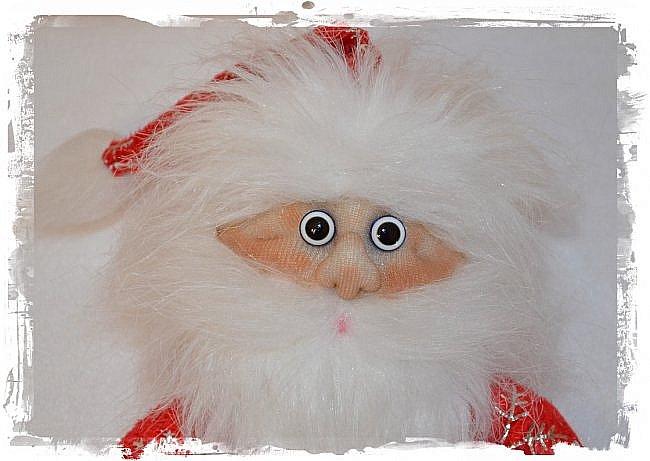 Всем Привет! А я продолжаю Тему Нового года))) И вот Сшились Три Деда мороза на Новогодний Напиток! Вот такие Красавчики))) Это Первый) фото 1