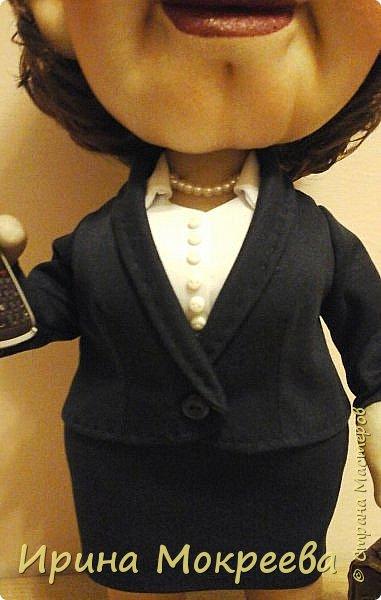 Хочу представить на суд жителей страны свою новую куклу- солидную даму руководителя. фото 3