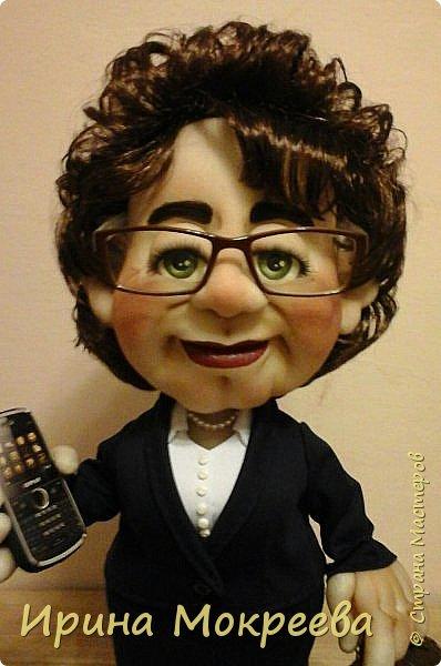 Хочу представить на суд жителей страны свою новую куклу- солидную даму руководителя. фото 5