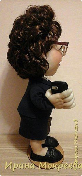 Хочу представить на суд жителей страны свою новую куклу- солидную даму руководителя. фото 6