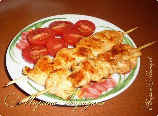 Здравствуйте, сегодня пишу рецепт вкусных куриных шашлычков в паприке на сковороде. Отличная идея для домашнего ужина или обеда. Блюдо очень простое в приготовлении, а результат отличный. Мясо нежное, и вкусное.  фото 8
