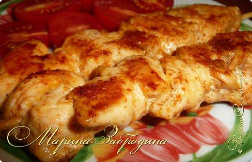 Здравствуйте, сегодня пишу рецепт вкусных куриных шашлычков в паприке на сковороде. Отличная идея для домашнего ужина или обеда. Блюдо очень простое в приготовлении, а результат отличный. Мясо нежное, и вкусное.  фото 12