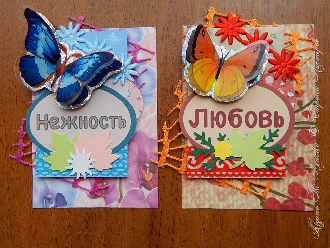 """Приветствую всех жителей Страны Мастеров! Представляю новую серию карточек """"Бабочки"""" фото 1"""