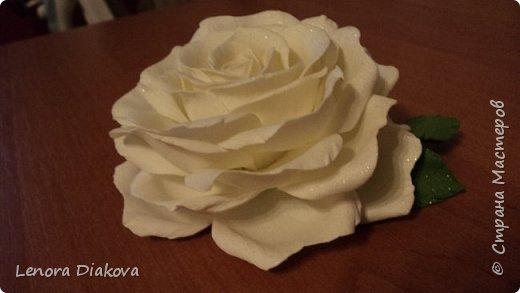 Доброе утро всем! Пользуясь случаем всех поздравляю с праздником! Удачи вам в новом учебном году! А я начала учебный год новыми розами. Пригласили нас с мужем на свадьбу. Захотелось сделать себе к платью розу, а мужу бутоньерку. Ну и понеслось...  Остановиться на одном цветке не смогла. Выкройку взяла в книжке очень старой. Когда-то делала цветы из ткани.  Вот что получилось фото 2