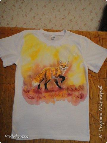 Для моих любимых племяшей нарисовала футболочки фото 7