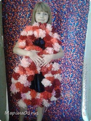 Вот такую циферку мы сделали с дочкой на ее день рождения . фото 1