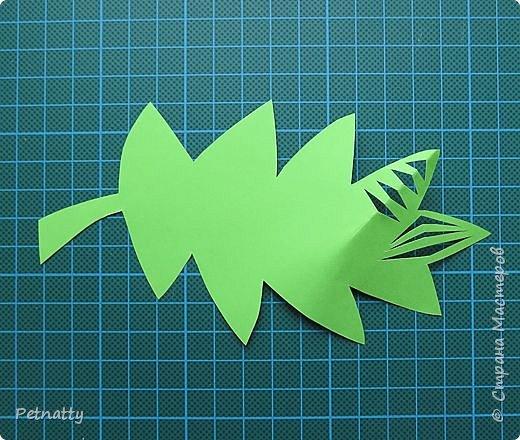 Такие листочки вырезать довольно просто, справятся и дети. Можно использовать при украшении класса. фото 7