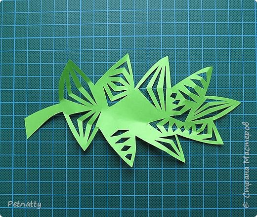 Такие листочки вырезать довольно просто, справятся и дети. Можно использовать при украшении класса. фото 10