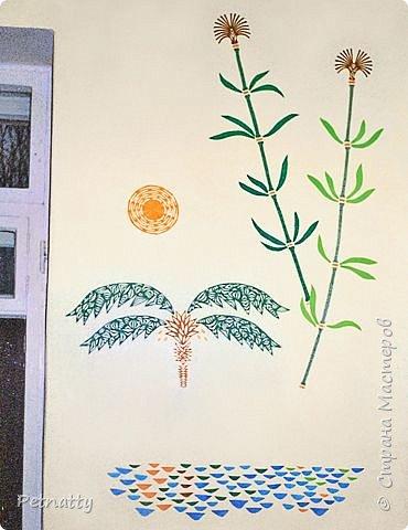 Такие листочки вырезать довольно просто, справятся и дети. Можно использовать при украшении класса. фото 12