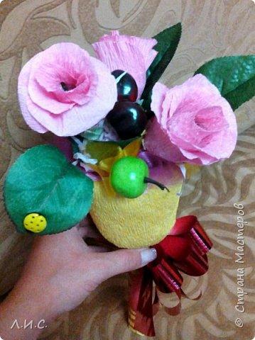 Если утром идти на линейку, а под рукой ни цветов,ни конфет, за исключением трёх ирисок.... фото 4