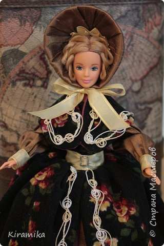 """Кукла-шкатулка """"Путешественница"""" фото 3"""