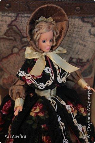 """Кукла-шкатулка """"Путешественница"""" фото 4"""