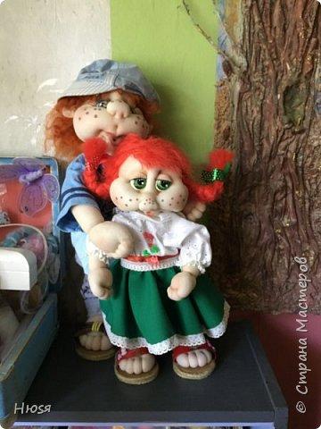 Каркасная кукла 45 см . фото 8