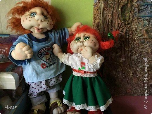 Каркасная кукла 35 см фото 9
