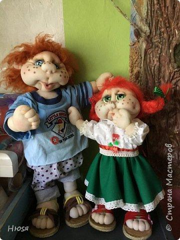Каркасная кукла 45 см . фото 6