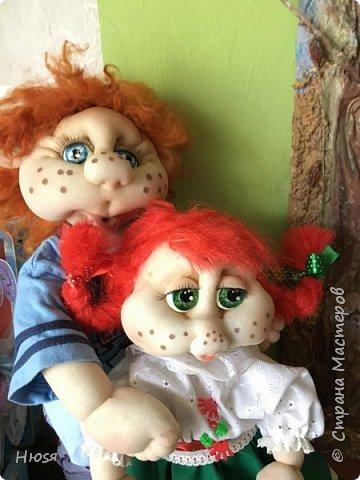 Каркасная кукла 45 см . фото 7