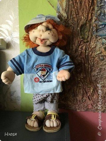 Каркасная кукла 45 см . фото 3