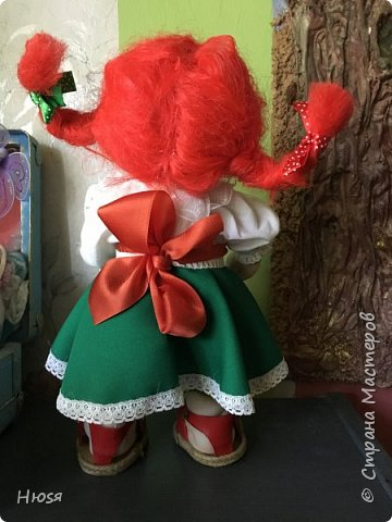 Каркасная кукла 35 см фото 6