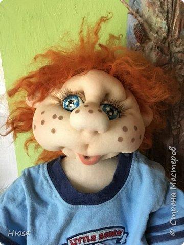 Каркасная кукла 45 см . фото 2