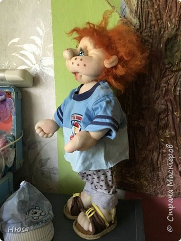 Каркасная кукла 45 см . фото 4