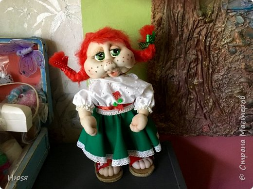 Каркасная кукла 35 см фото 3