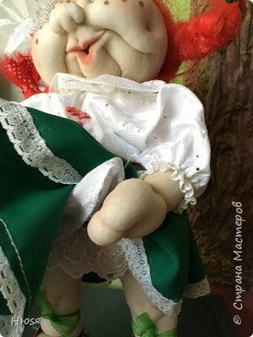 Каркасная кукла 35 см фото 5