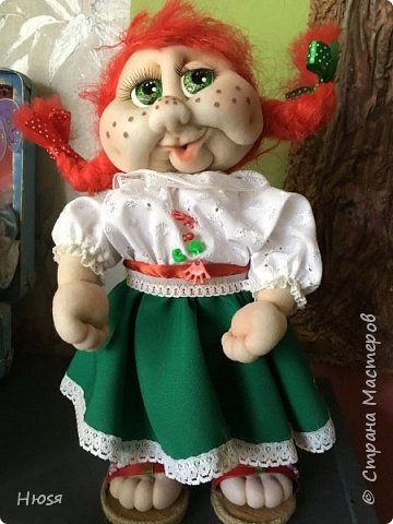 Каркасная кукла 35 см фото 1
