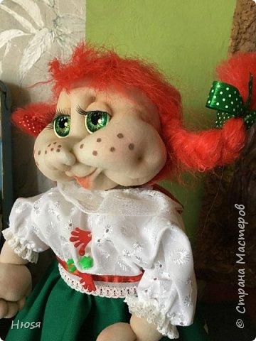 Каркасная кукла 35 см фото 8