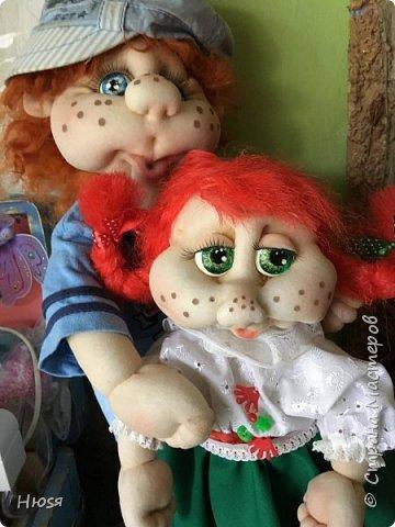 Каркасная кукла 45 см . фото 9