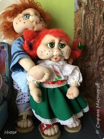 Каркасная кукла 35 см фото 12