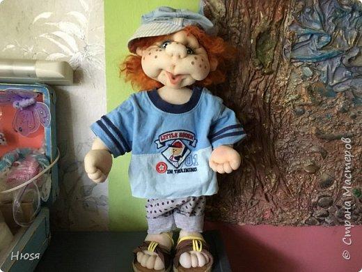 Каркасная кукла 45 см . фото 1