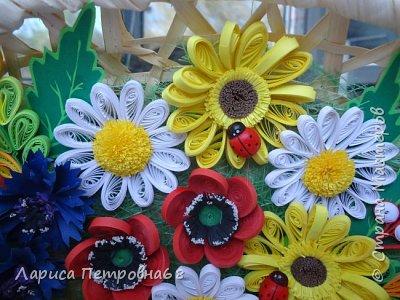 Доброе время суток жители Страны Мастеров !!! Давно были куплены корзинки и накручены цветочки но вот только сейчас соединила их вместе и получились корзинки с цветами  Подобные корзинки я уже делала ,подсмотрела  у Астаховой Инны ,большое спасибо за идею фото 5