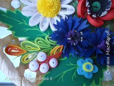 Доброе время суток жители Страны Мастеров !!! Давно были куплены корзинки и накручены цветочки но вот только сейчас соединила их вместе и получились корзинки с цветами  Подобные корзинки я уже делала ,подсмотрела  у Астаховой Инны ,большое спасибо за идею фото 12