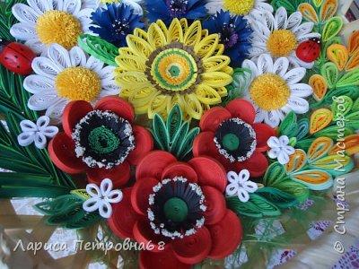 Доброе время суток жители Страны Мастеров !!! Давно были куплены корзинки и накручены цветочки но вот только сейчас соединила их вместе и получились корзинки с цветами  Подобные корзинки я уже делала ,подсмотрела  у Астаховой Инны ,большое спасибо за идею фото 17