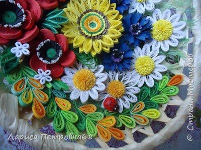 Доброе время суток жители Страны Мастеров !!! Давно были куплены корзинки и накручены цветочки но вот только сейчас соединила их вместе и получились корзинки с цветами  Подобные корзинки я уже делала ,подсмотрела  у Астаховой Инны ,большое спасибо за идею фото 18