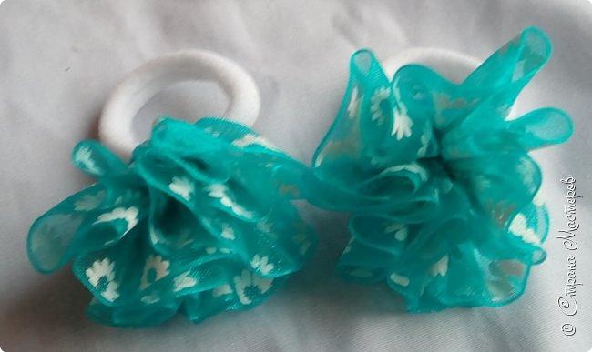 Привет)  Сегодня делюсь очередными работами, надеюсь не заскучаете) Начнем с ажурной повязки с декором из репса) фото 19