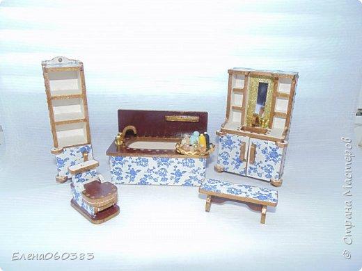 Кукольная мебель для игрушек высотой 8-10 см фото 1