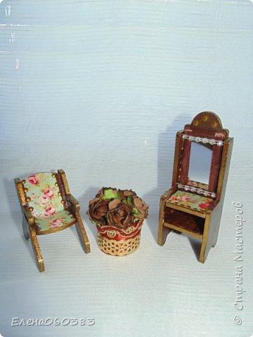 Кукольная мебель для игрушек высотой 8-10 см фото 10