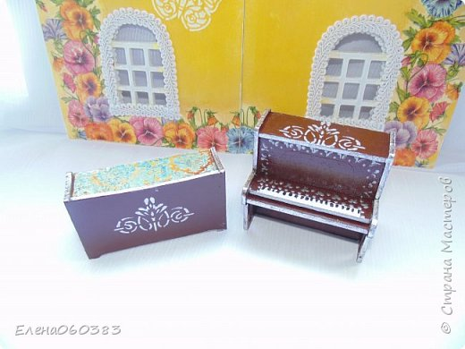 Кукольная мебель для игрушек высотой 8-10 см фото 7