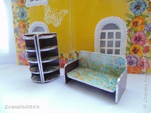 Кукольная мебель для игрушек высотой 8-10 см фото 8