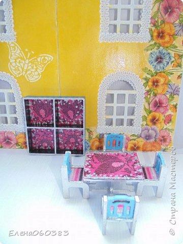 Кукольная мебель для игрушек высотой 8-10 см фото 16