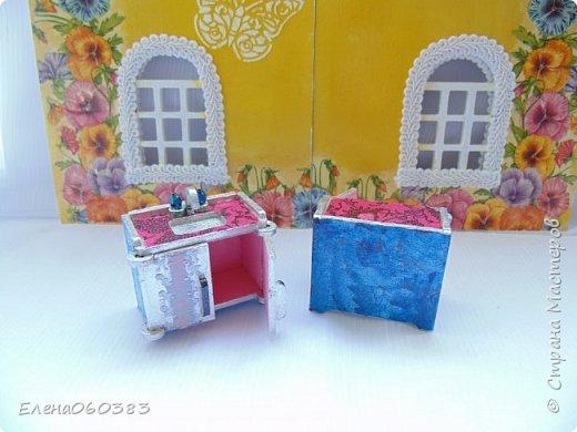 Кукольная мебель для игрушек высотой 8-10 см фото 18