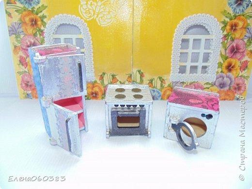 Кукольная мебель для игрушек высотой 8-10 см фото 19