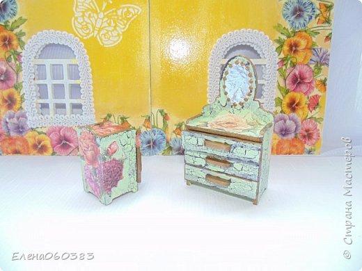 Кукольная мебель для игрушек высотой 8-10 см фото 33